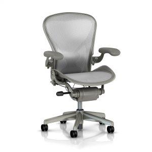 aeron cobalt chair