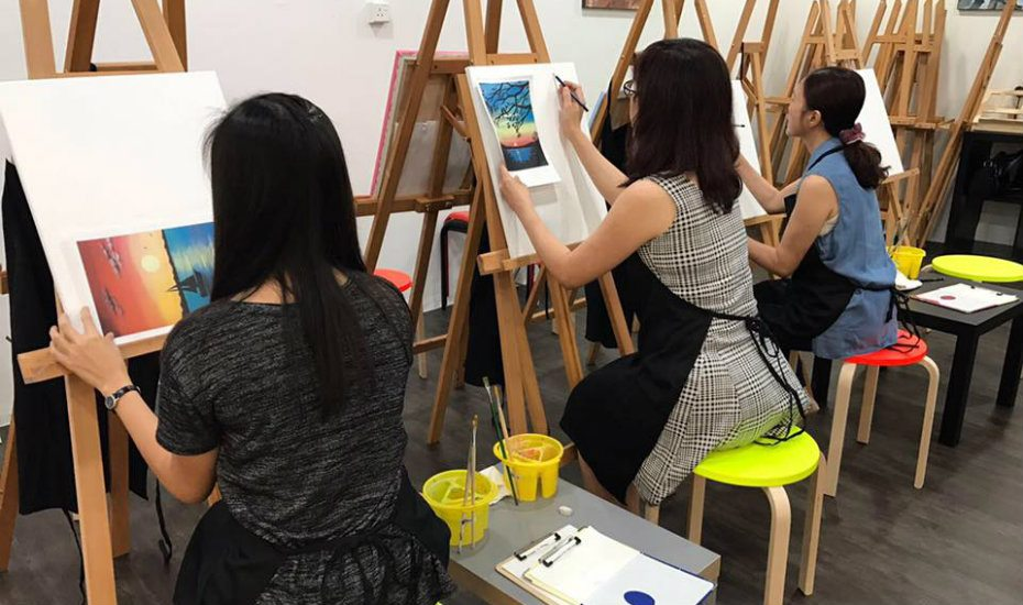 Singapore Art Jamming Class